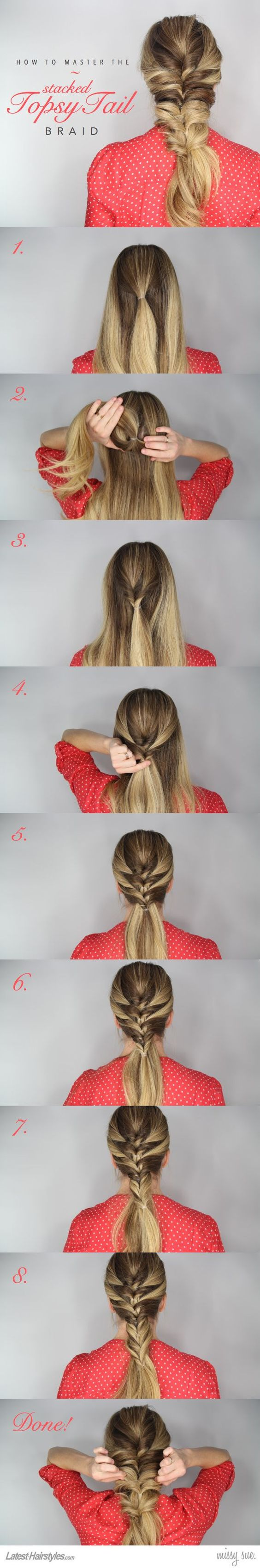 stacked-topsy-tail-braid via