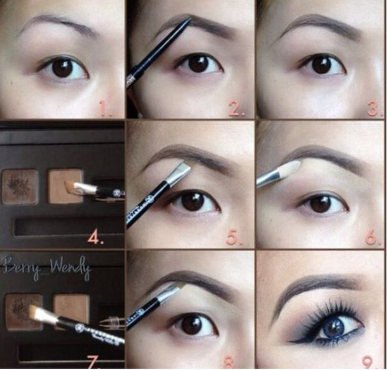10 Ways To Get Pretty Eye Brows Pretty Designs