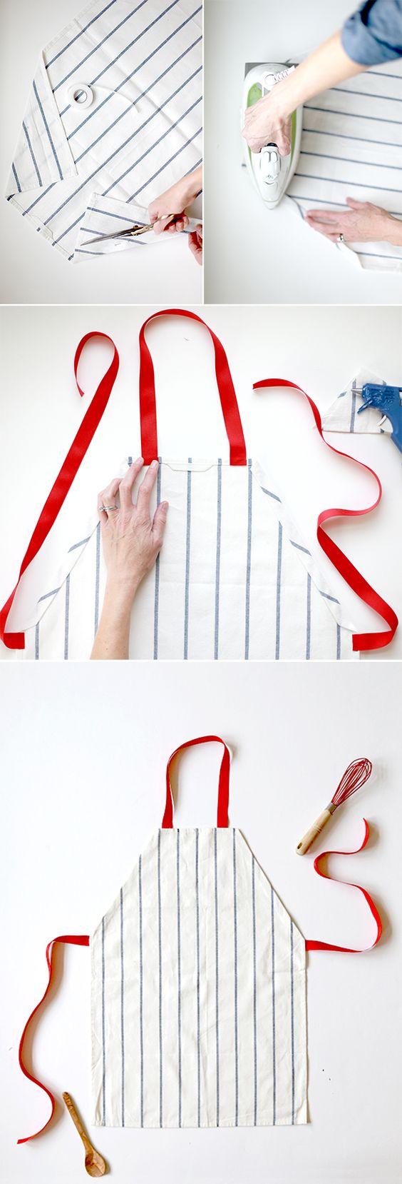 striped-apron via