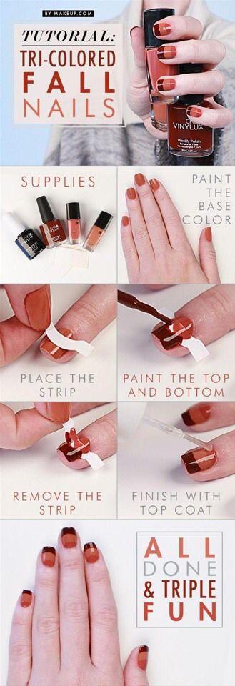three-tone-nails via