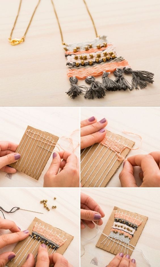 woven-necklace via