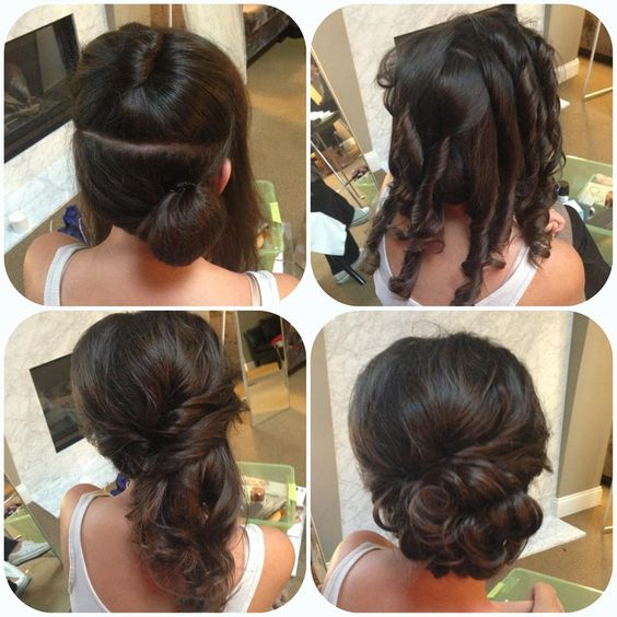 26 Amazing Bun Updo Ideas for Long & Medium Length Hair ...