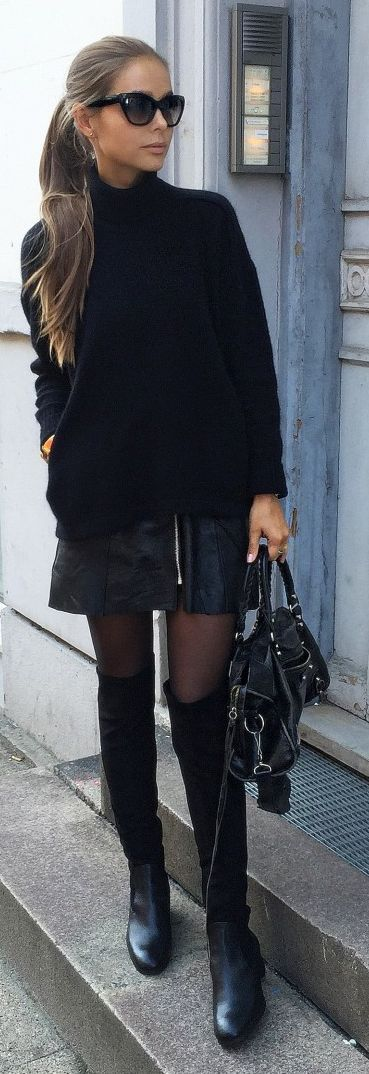 all-black-outfit via
