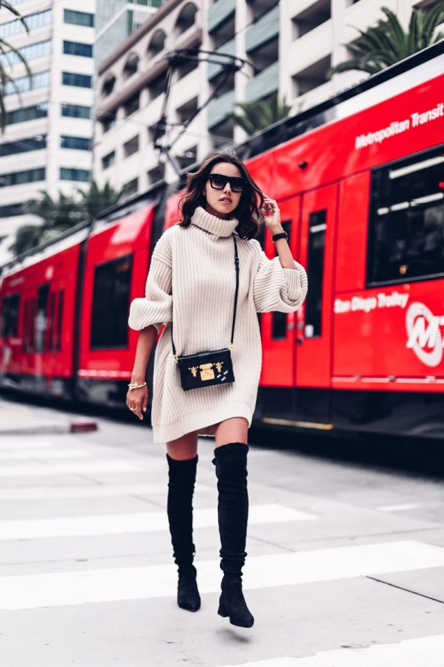 black-and-white-outfit via
