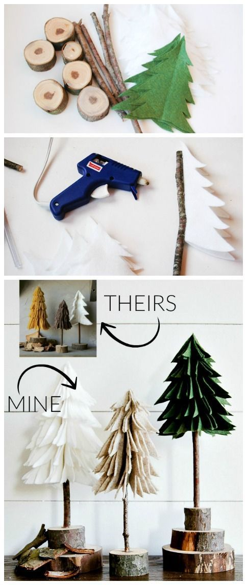 christmas-tree-crafts via