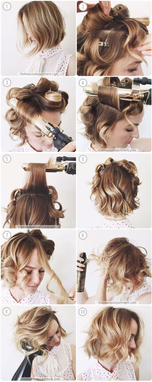 easy way to style hair 15 ways to style your lobs bob hairstyle ideas 4166