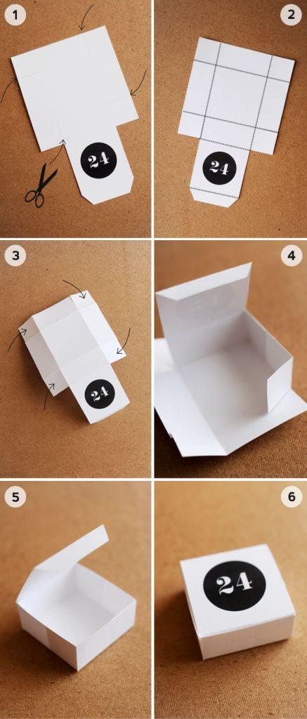 making a paper box