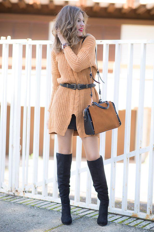 knit-dress via