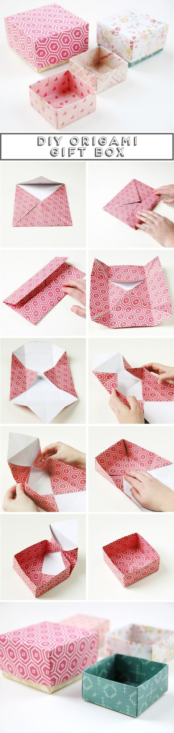 15 diy tutorials for making gift wrappers pretty designs - How to make a gift with paper ...