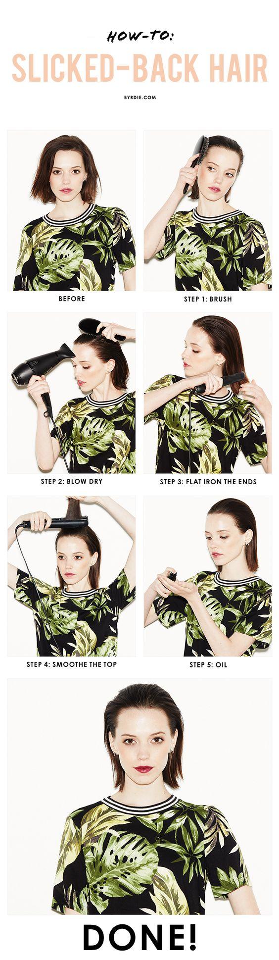 15 Hair Tutorials for Bobs - Pretty Designs