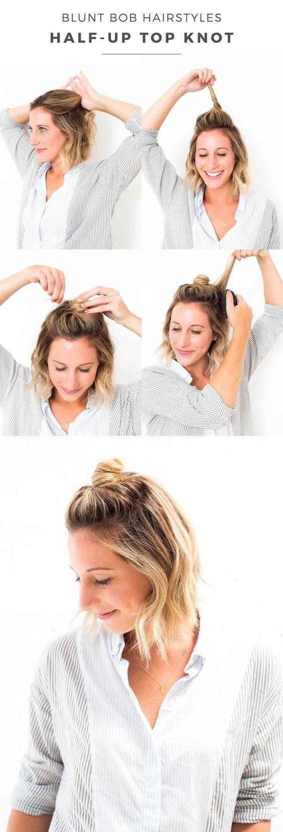 Top Knot for Lobs