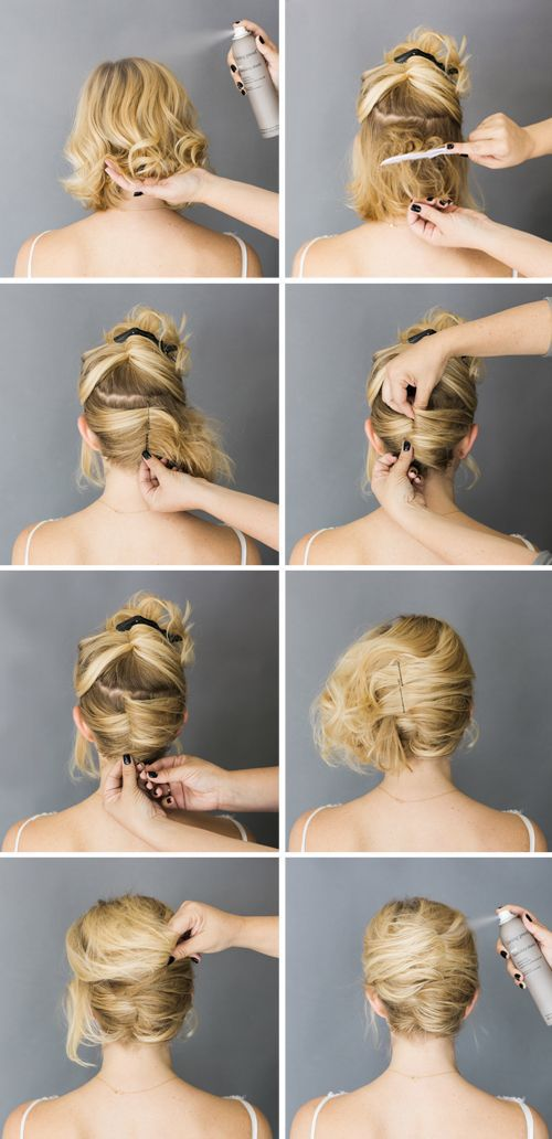15 Hair Tutorials For Bobs Pretty Designs