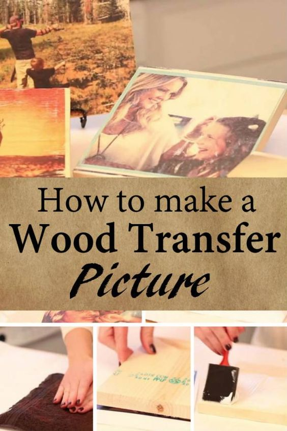12 diy ideas to transfer photos to wood pretty designs for How to transfer design to wood
