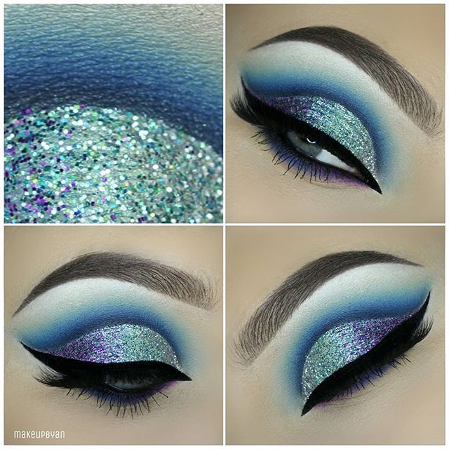 How To Rock Blue Makeup Looks 20 Blue Makeup Ideas