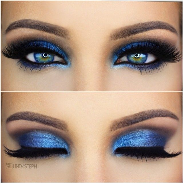 How to Rock Blue Makeup Looks - Blue Makeup Ideas & Tutorials
