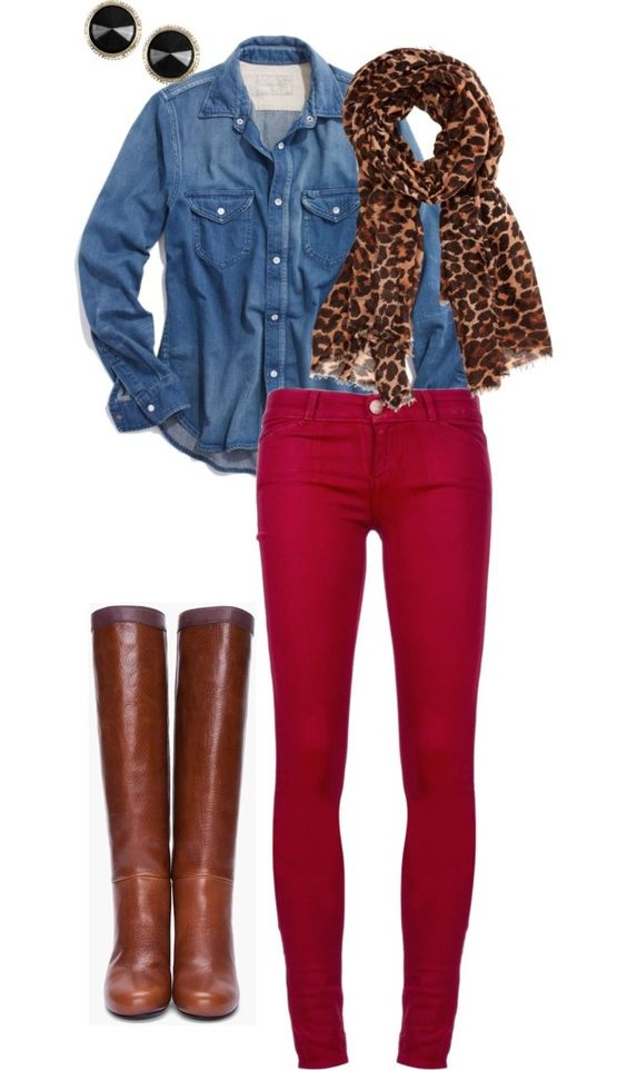 18 Leopard Print Outfits That Aren't Overpowering Outfits  sweater Leopard Print Style Leopard Jeans fashion Culture Clothing