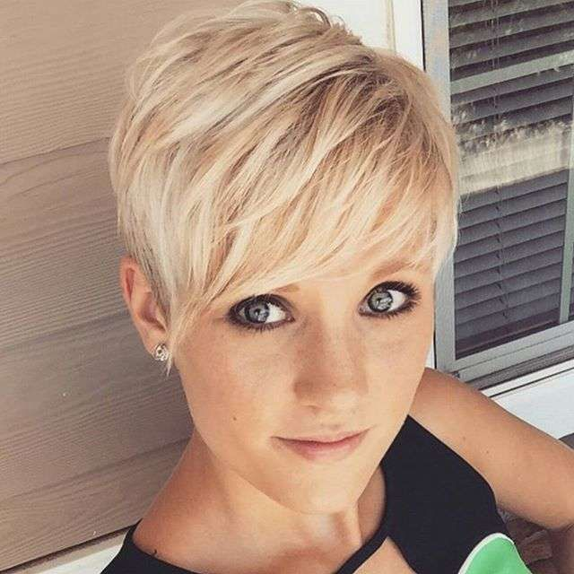 Simple Short Hairstyles Layered Short Haircut Trendy Hairstyles For