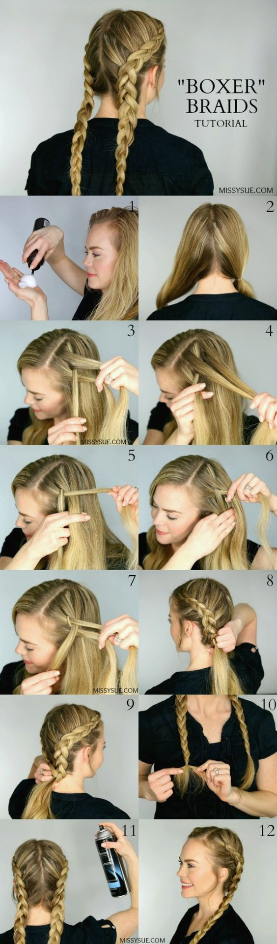 12 Braided Hair Tutorials For Spring 2017 Pretty Designs