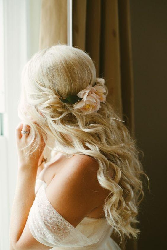 20 Wedding Hair Ideas For Spring 2017 - Pretty Designs