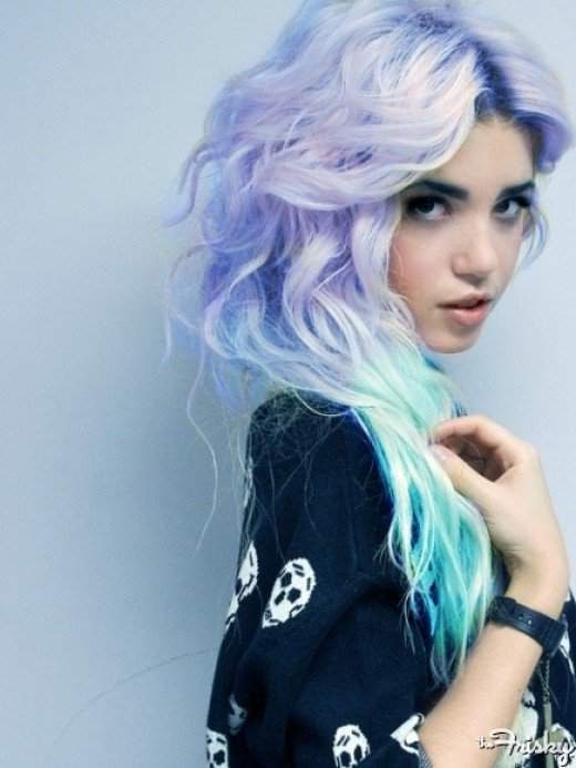 Pastel Hair Color 2018