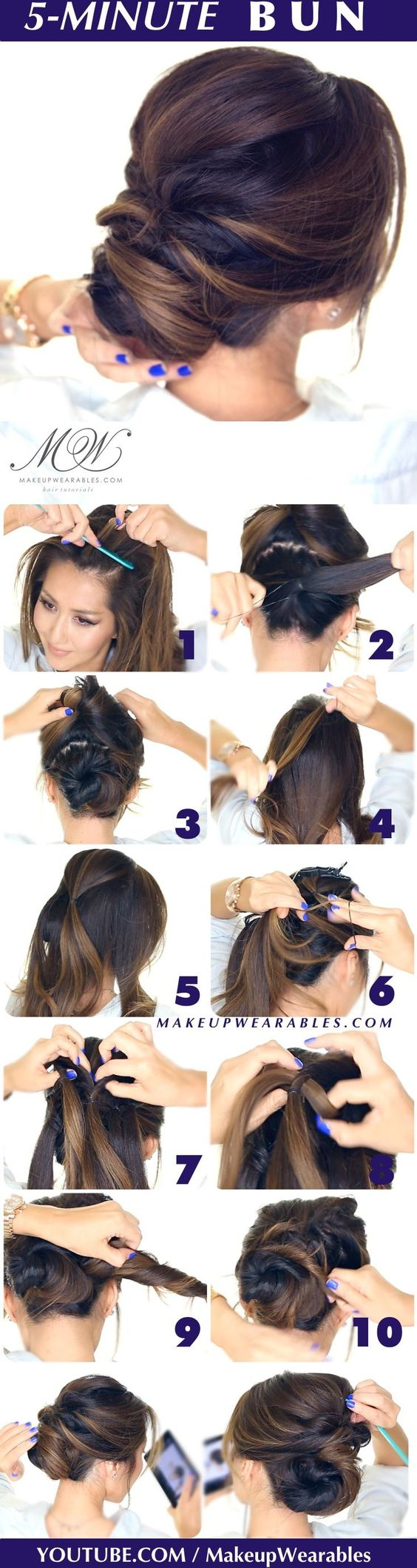 16 Easy Updo Hair Tutorials For The Season Pretty Designs