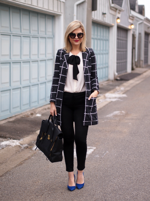 How To Wear Checked Pieces For Winter Pretty Designs
