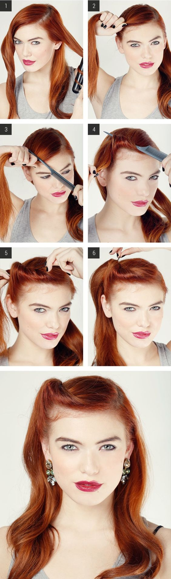 20 Elegant Retro Hairstyles 2017 Vintage Hairstyles For