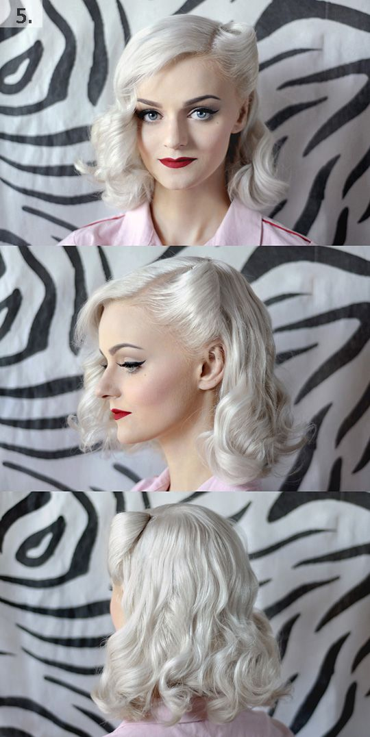 20 Elegant Retro Hairstyles 2020 Vintage Hairstyles For
