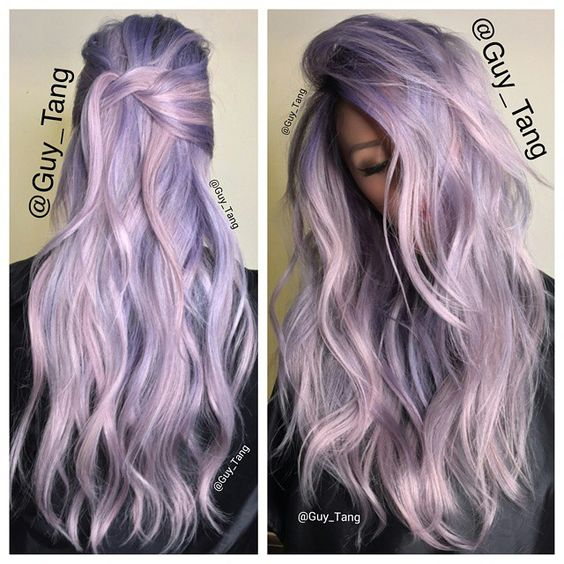 Pastel Hair Color Ideas