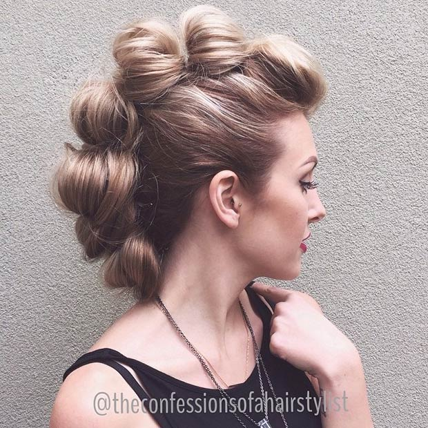 Trendy Faux Hawk Hairstyles for women