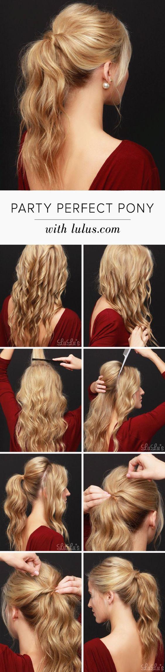 15 Hair Tutorials zum Valentinstag