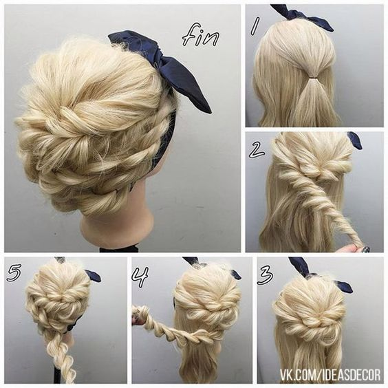 15 hairstyles inspired from rope braids pretty designs. Black Bedroom Furniture Sets. Home Design Ideas