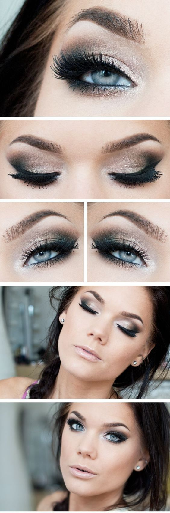 11 Awesome Eye Makeup Looks for Blue Eyes - Pretty Designs