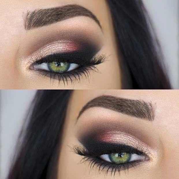 Makeup for Green Eyes - green eyes makeup tutorials