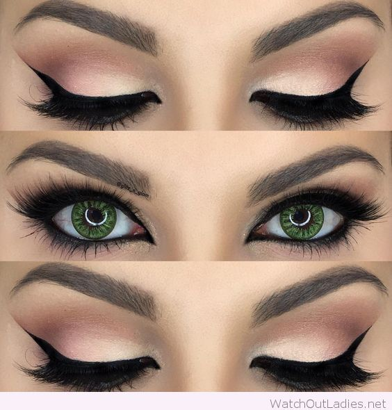 Makeup For Green Eyes Tutorials