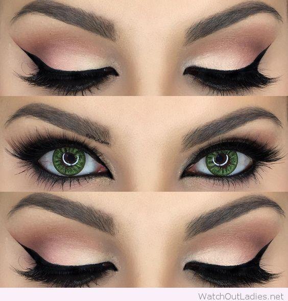 Make-up für grüne Augen - Make-up-Tutorials für grüne Augen