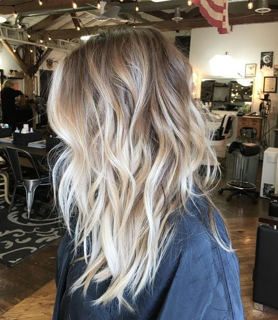 balayage hair color ideas 2018