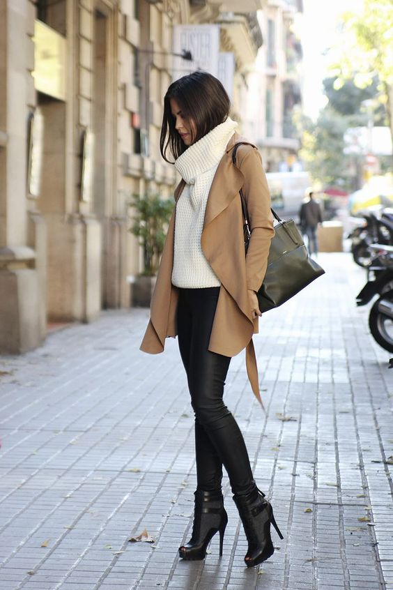 11 Ways to Rock Roll Necks – Roll Neck Outfit Ideas for Women Outfits  Outfit Ideas