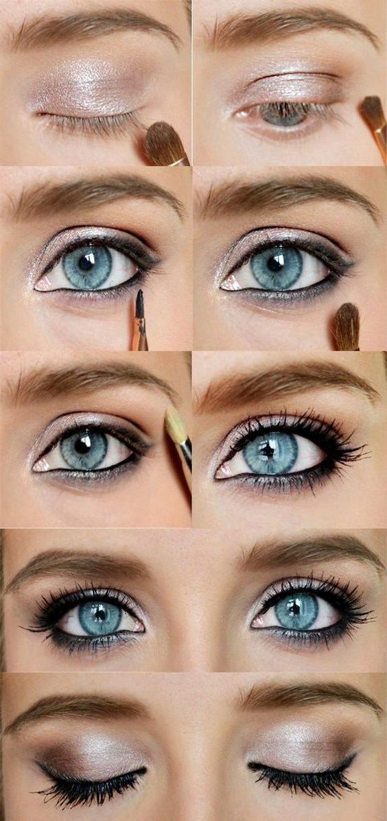 How To Rock Makeup For Blue Eyes Easy Makeup Tutorials