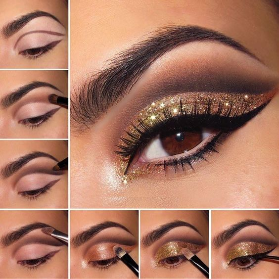 10 Super Easy Step by Step Eyeshadow Tutorials for Beginners