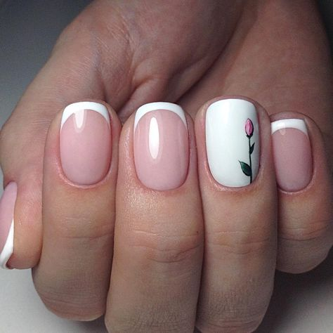 22 Awesome French Manicure Designs - 26 Awesome French Manicure Designs - Hottest French Manicure Ideas