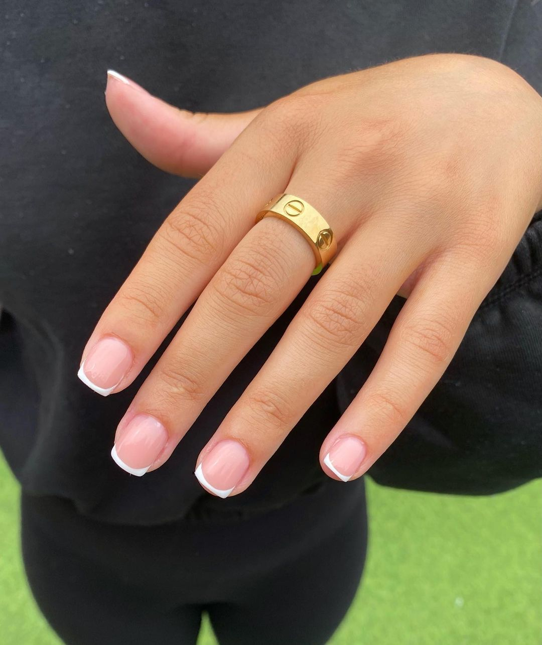 French Manicure Designs for Short Nails