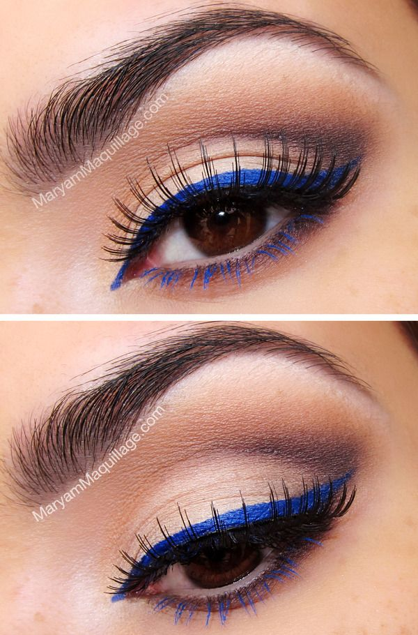 How to Apply Dramatic Colorful Eyeliner