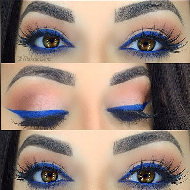 How To Apply Dramatic Colorful Eyeliner Pretty Designs