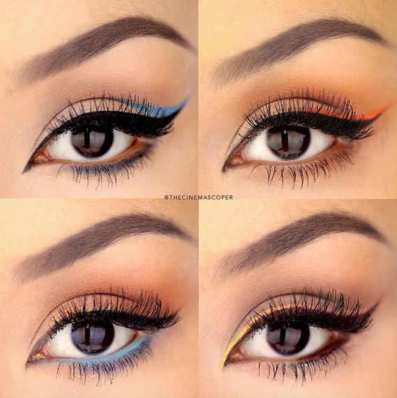 Makeup Beauty Everyday How To Apply Dramatic Colorful
