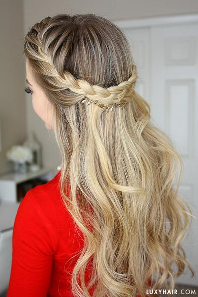 18 Cute French Braid Hairstyles for Girls 2018