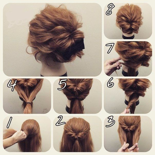 18 Pretty Simple Bun Hairstyles Tutorials 18 Pretty Simple Bun Hairstyles Tutorials ...
