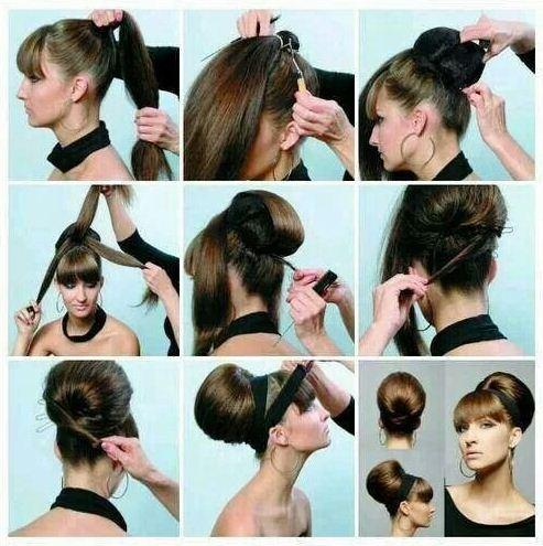 18 Pretty Simple Bun Hairstyles Tutorials