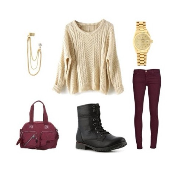 20 Amazing Cute Sweater Outfit IdeasFall/Winter Look