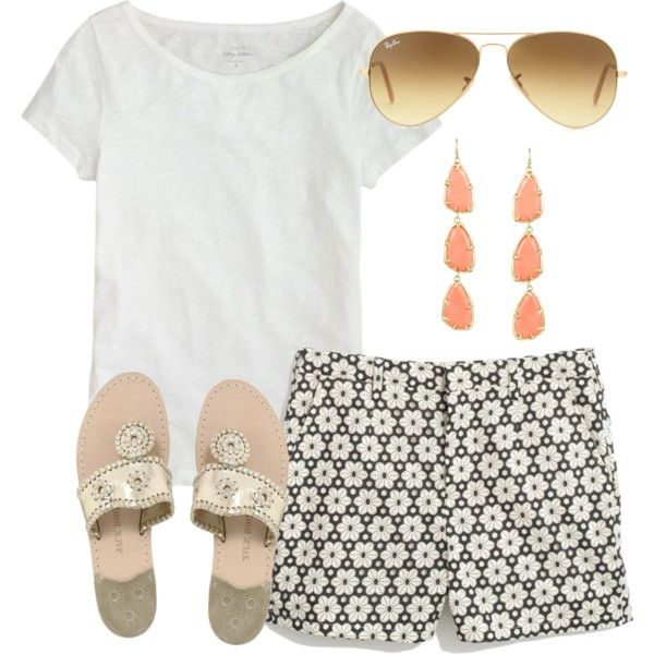 20 Best Polyvore Summer Outfit Ideas 2018